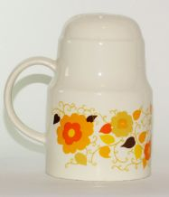 1970's Crown Devon Carnaby Daisy Flour Sifter (Mary Quant)